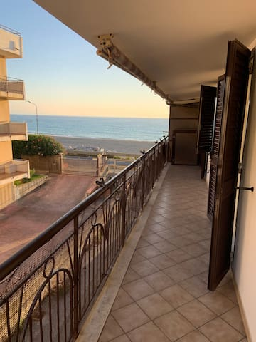 Falerna Marina, 20m to the beach, 4 people