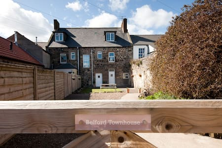 Belford Townhouse, near Bamburgh - Belford