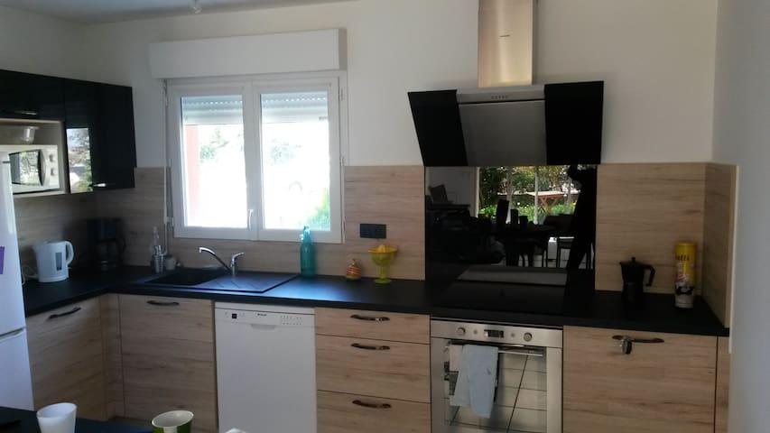 Petite Maison calme et agréable proche de Rodez - Olemps - Hus