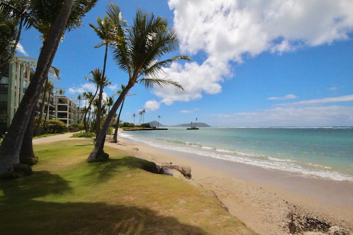 Beautiful Beachfront 2bd/2ba - Kahala Beach Condo!