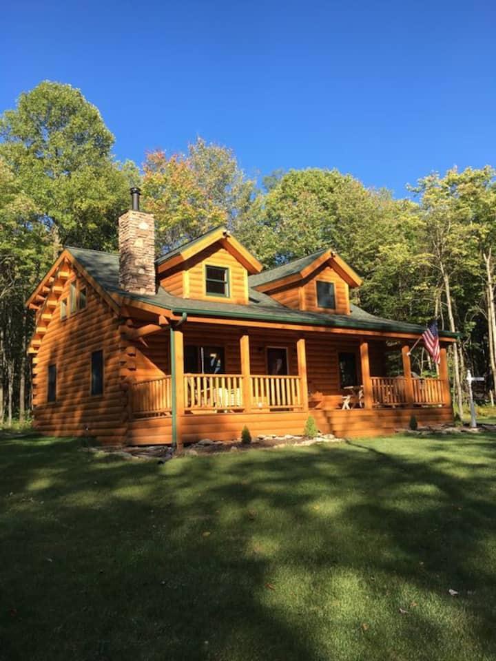 Log Cabin near Ohiopyle