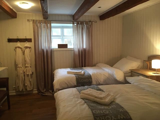Private room for 2 in the heart of Reykjavík