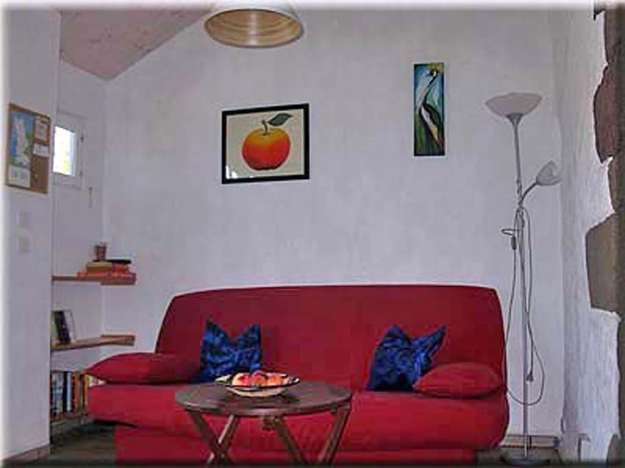 Wohnzimmer, living room, salon