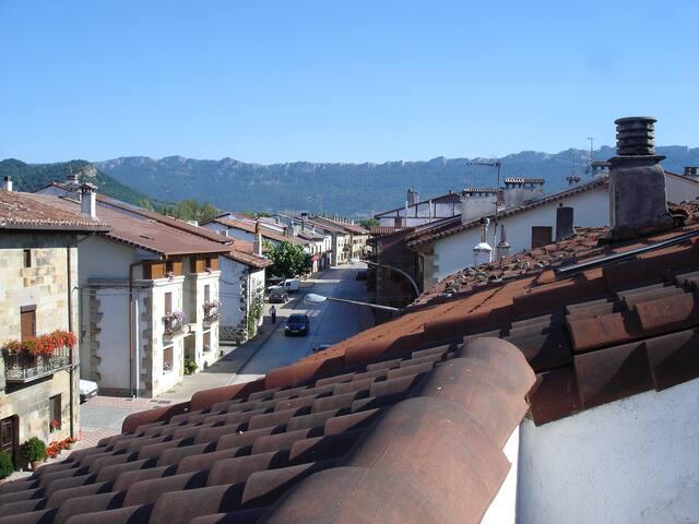 Vista de Casa Rural Reparaz, Sierra Urbasa