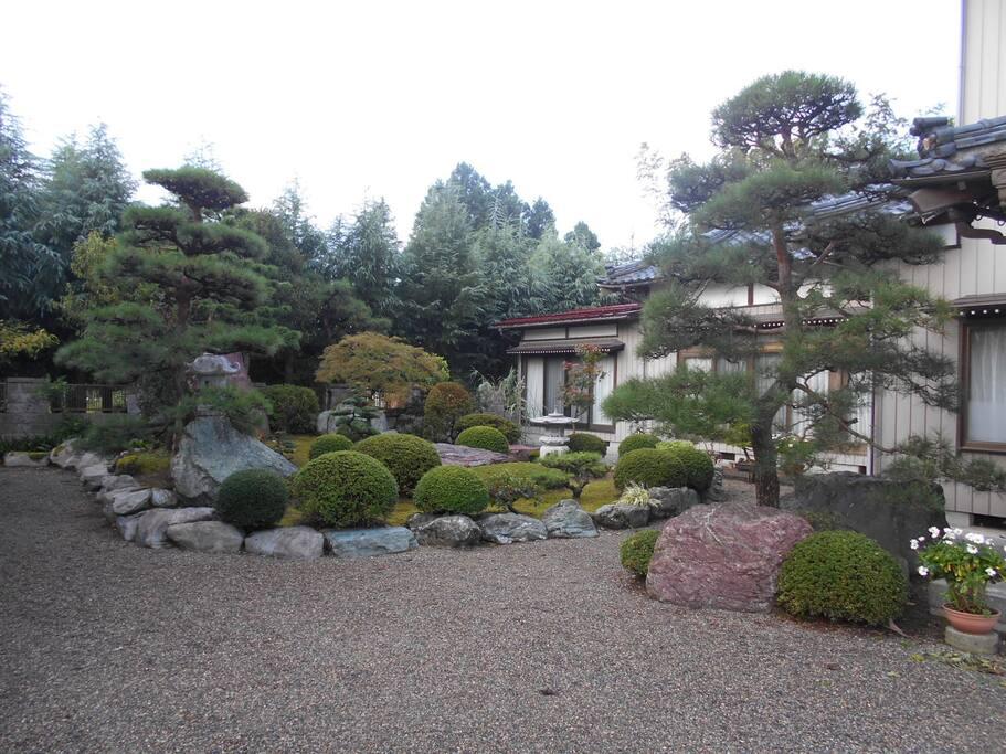 庭  garden