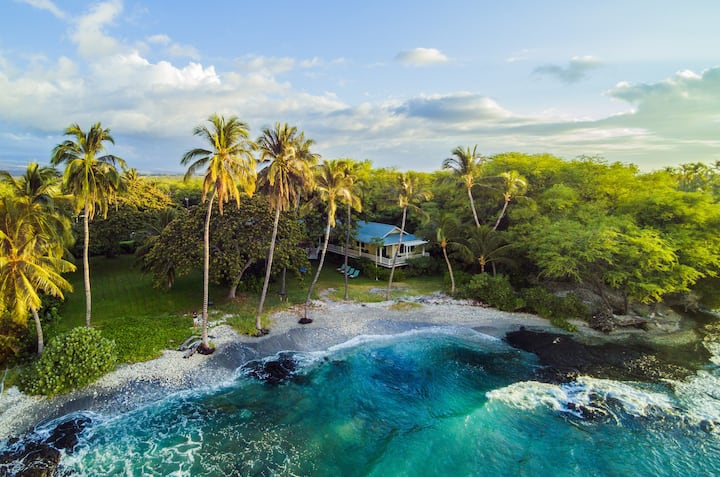 Oceanfront, Luxury, Classic Puako Beach House: Puako Bay (74)
