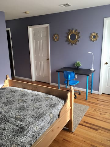 MasterSuite 8 min -EWR near 2 NYC - Newark - Huoneisto