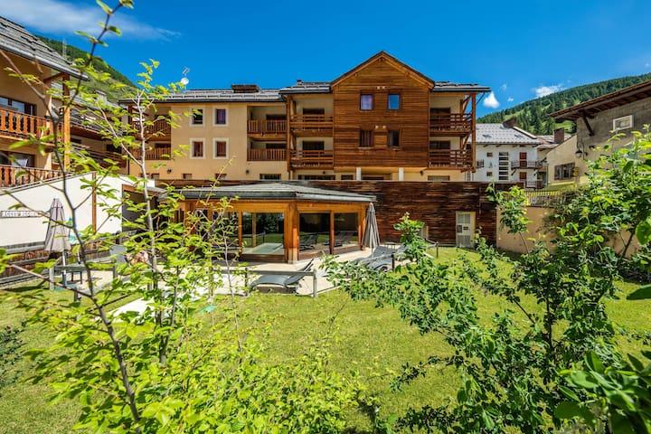 Appartement Calme + Cosy | Accès Piscine, Sauna