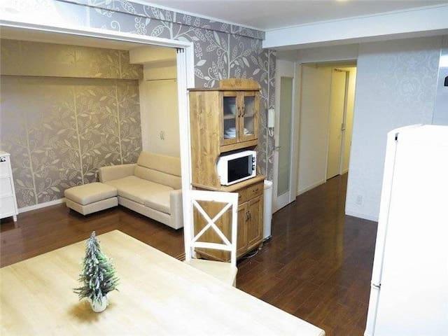 1人用 西麻布、+ポケットWifi+洗濯機+キッチン - Minato-ku - Casa