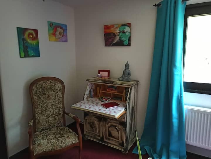 Gemütliches Zimmer im Waldhaus