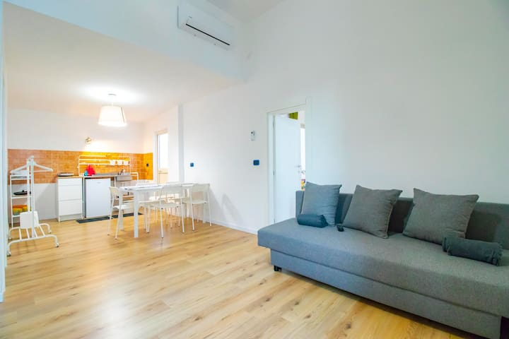 CAVOUR - ACCOMMODATION ON THE TOP FLOOR