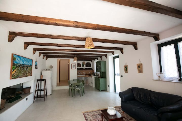 Casa immersa nella Valle D'Itria