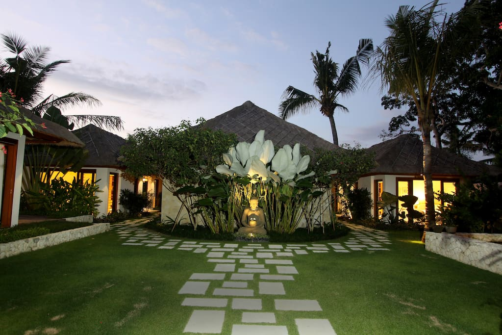 Villa Pantai is nestled amongst stunning tropical gardens