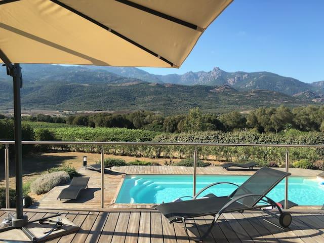 Villa au calme avec vue à 15 min des plages - Figari - Villa