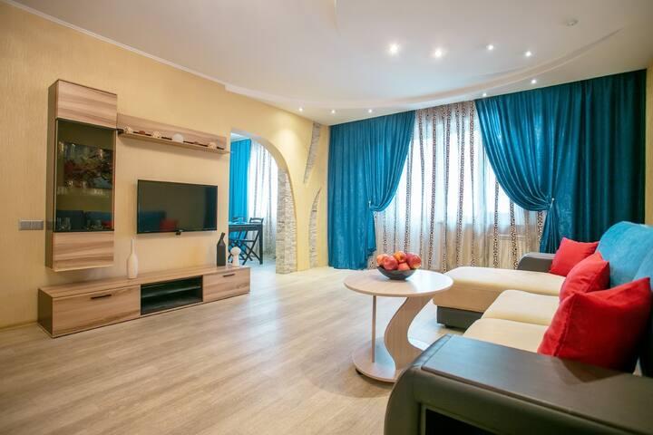 Шикарная трёхкомнатная квартира на Взлетке