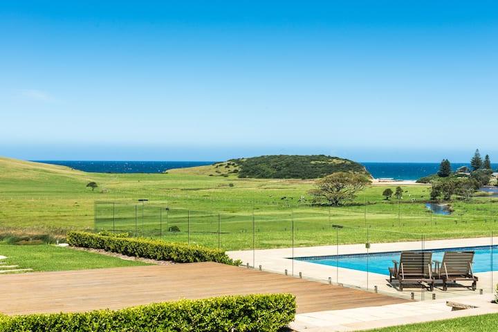 Seacliff House x 2 - Ocean & Dairy Country Views