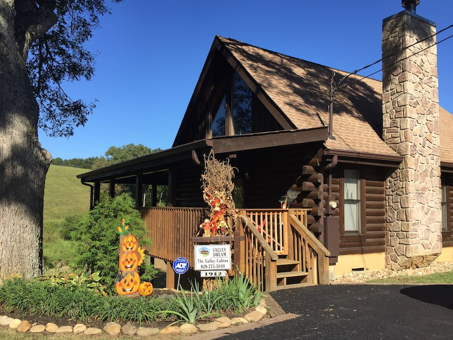 Fall at Valley Dream Cabin