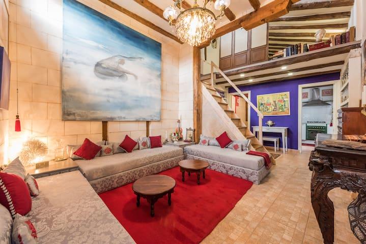 oriental Riad in  Madrid heart . - Madrid - Loft