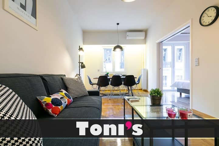 Toni S 3bd Central Apartment In City Heart Apartments For Rent In Athina Greece