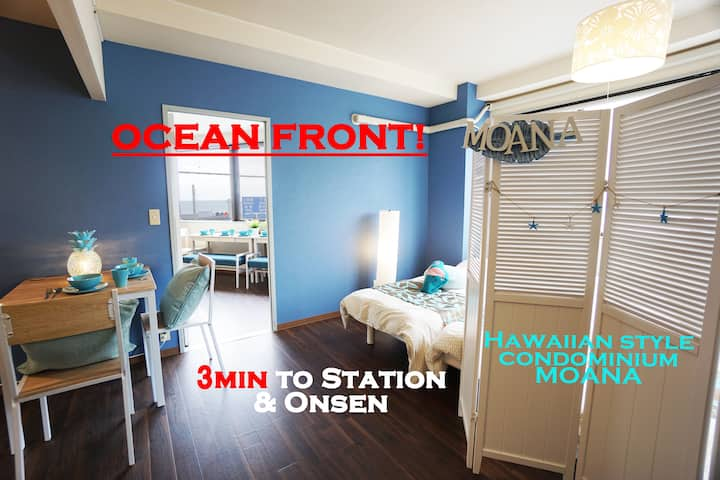 Ocean View! 548ft² Condominium 3 min to JR Ito st.