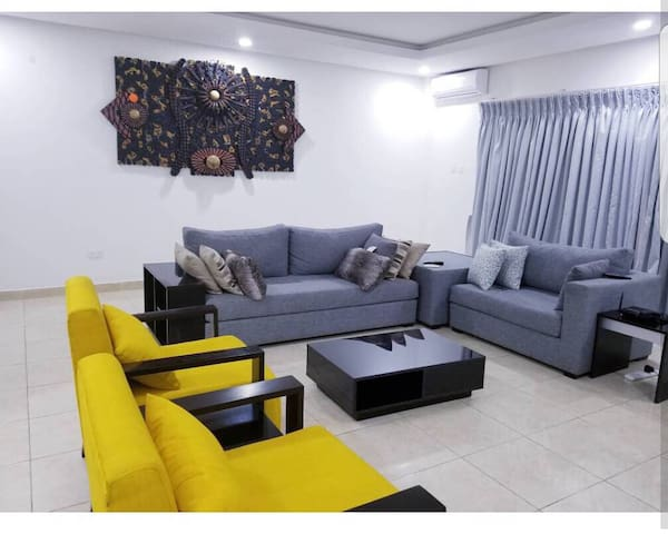 Tastefully furnished three bedroom with ocean view
