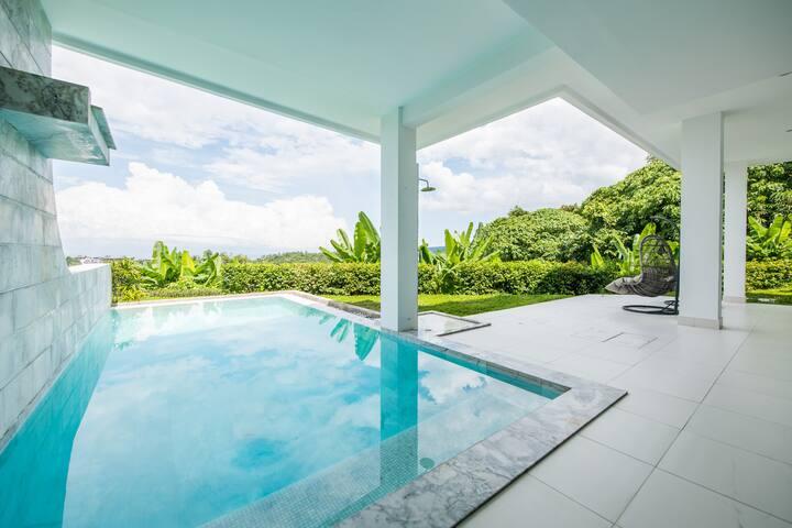 Luxury 3Bedroom Pool villa ,Magnificent sea view