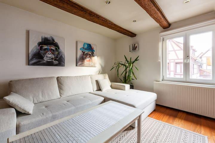 Charmante maison alsacienne au cœur d'Obernai