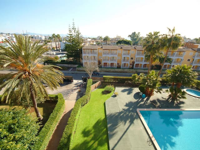 Apartment Arcoiris, great location at the Port.