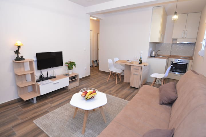 Beautiful 1BDR Apartment PETRA in central area
