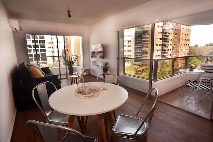 Luminoso y cómodo Apartamento en Punta Carretas