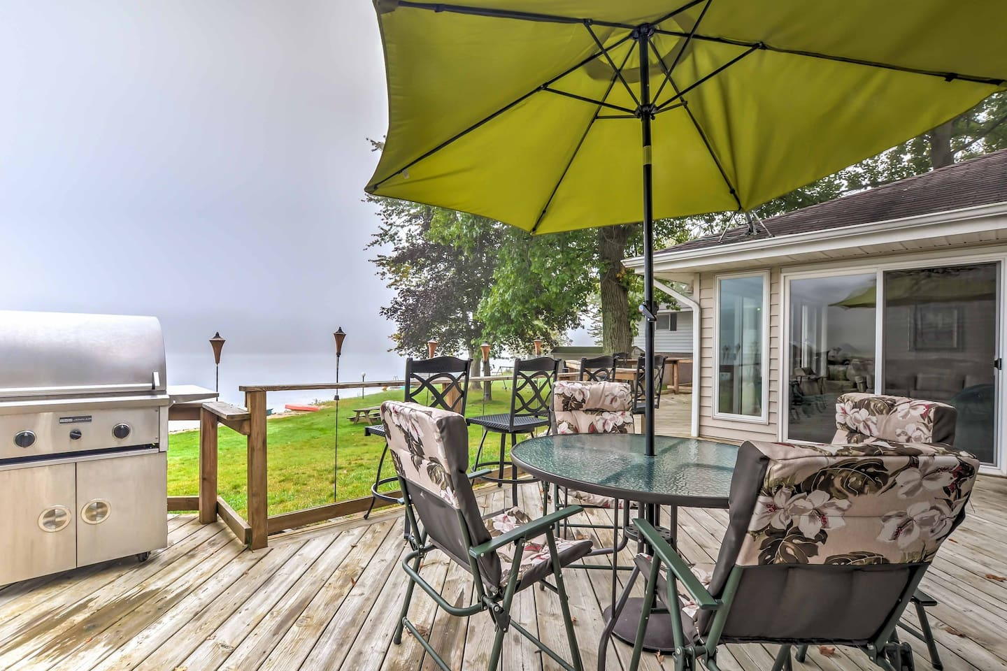 Your dream getaway awaits you at this lakefront vacation rental home.
