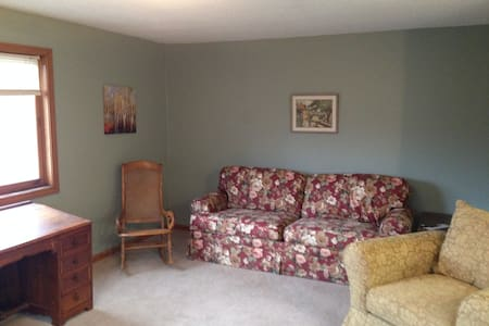 Great space for groups or families - Gorham - Pis