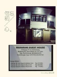 Guest house strategis lokasi tenang  dalam kota.