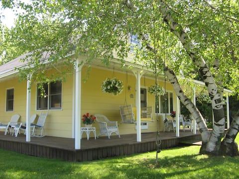 Thousand Island Park Quiet Cottage w/2 Master Bed
