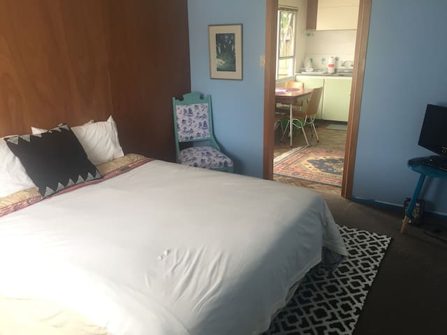 Private flat near trails, river, and cafe