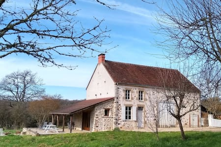 17th Century farmhouse on the Petite Creuse River