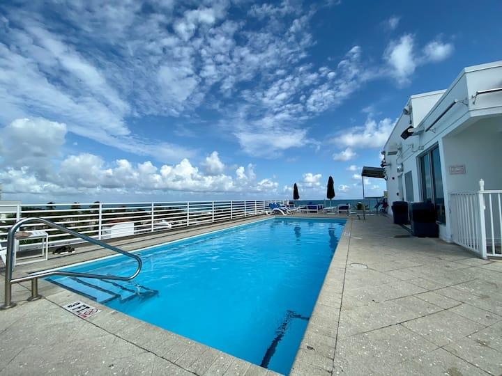 Balcony & OceanView, Kitchen, SouthBeach, OceanDr