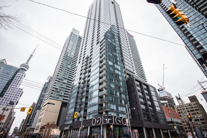 ☁️Signature HighRise 1BR in Core Downtown Toronto