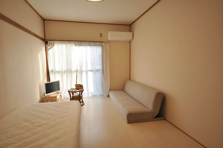 Cozy Private room 13-min to Mt takao 【Wifi】 - Hachiōji-shi - Apartemen