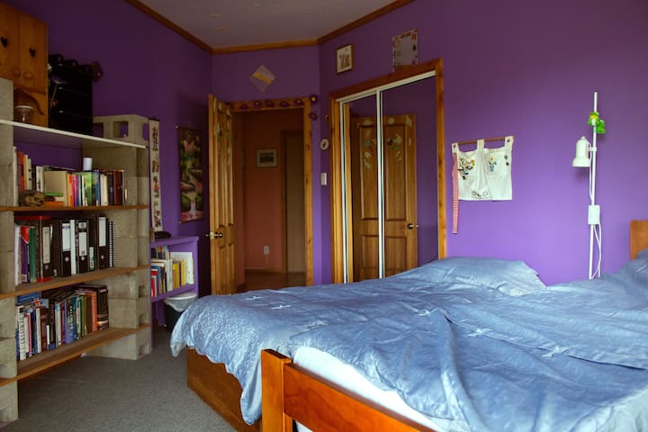 Double single bed room