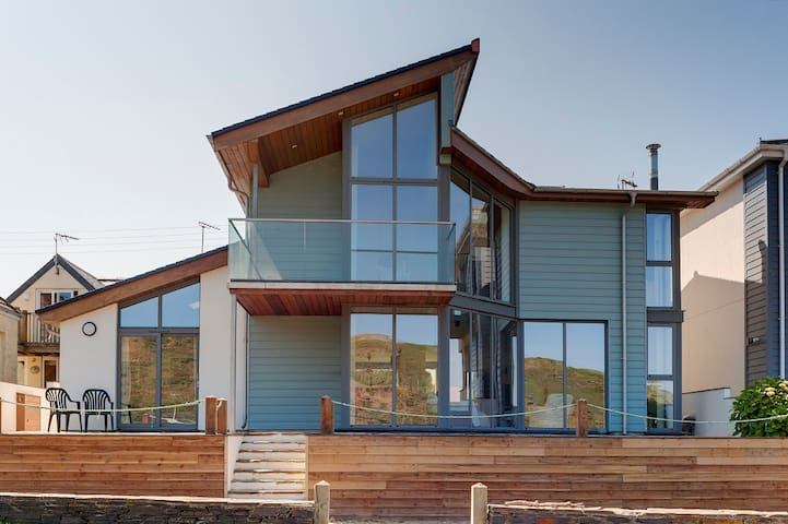 Gorgeous New Build Annex by Polzeath Beach,Slps2-3 - New Polzeath - Apartment