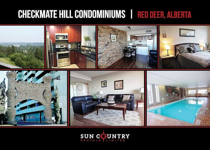 Red Deer's Only High Rise Condominium
