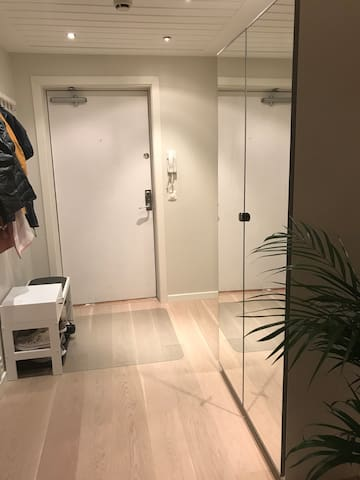 54 square meters apartment, 10 minutes walk from Oslo Central Station.