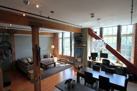 Brick & Timber loft in central South Beach! - San Francisco - Loft