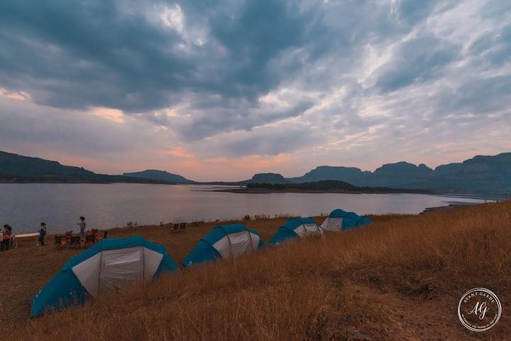 Roamy- Bhandardara Lakeside Camping