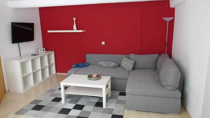 Flat, 50 m², central, quiet, own entrance