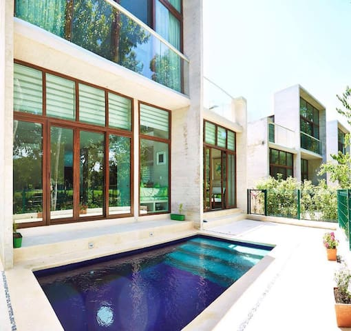 Akumal, TAO, house, 3 bdrm, 3 baths, private pool - Akumal - Huis