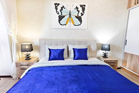 3ベッドルーム( 3 бком )新しい86 m 2市内中心部Табкент