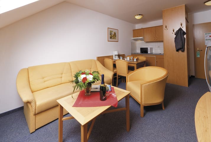 Panorama-Hotel am See (Neunburg vorm Wald), Appartement mit einem Schlafraum