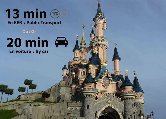 Proximité Parcs Disneyland